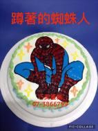 蹲著的蜘蛛人