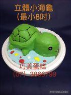 立體小海龜(最小8吋)
