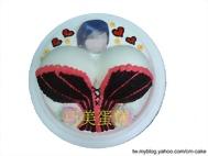 相片+腰塑奶膨(馬甲)造型蛋糕