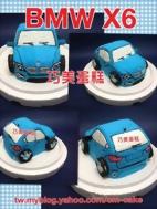 BMW X6汽車造型蛋糕