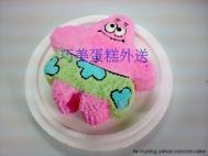 立體派大星造型蛋糕