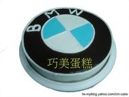 BMW標誌造型蛋糕