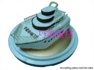 郵輪造型蛋糕