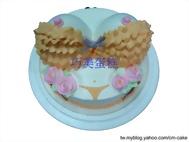 辣妹造型蛋糕