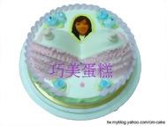 大波霸+相片蛋糕