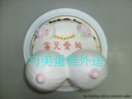 大胸奶(氣球)造型蛋糕