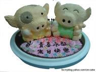 麥兜造型蛋糕