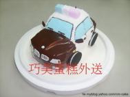 警車造型蛋糕
