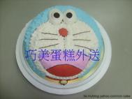 小叮噹造型蛋糕