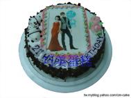 生日數位相片蛋糕