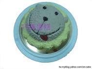 奶油獅造型蛋糕