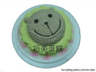 奶油獅造型蛋糕-2