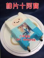 阿寶+相片造型蛋糕