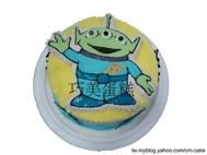三眼怪2D造型蛋糕