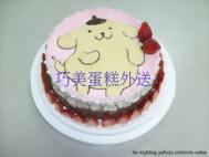 布丁狗造型蛋糕-3