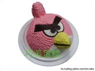 憤怒鳥造型蛋糕