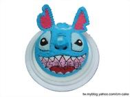 開心史迪奇(頭)造型蛋糕