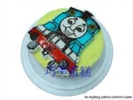 湯瑪仕小火車(2D)造型蛋糕