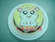哈姆太郎造型蛋糕-2