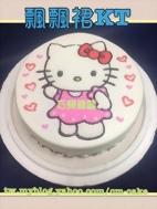 飄飄裙Kitty造型蛋糕