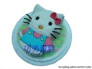 kitty貓(立體全身)造型蛋糕