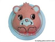 可愛熊造型蛋糕
