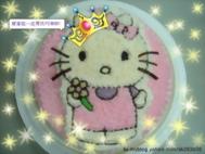 kt貓造型蛋糕