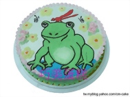 青蛙造型蛋糕