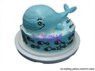 鯨魚造型蛋糕