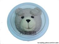 熊麻吉(頭)造型蛋糕