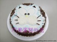 可愛貓造型蛋糕