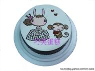 客製畫圖造型蛋糕