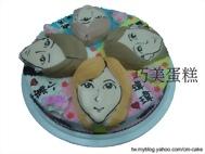 16吋Q版人物立體造型蛋糕