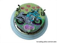 重型機車造型蛋糕