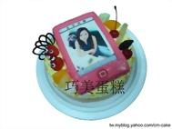 IPHONE4S(紅色)造型蛋糕