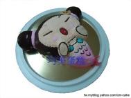 中國娃娃美人魚造型蛋糕