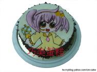 守護甜心造型蛋糕