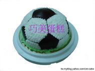 足球(氣球)造型蛋糕