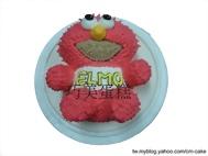 ELMO立體造型蛋糕