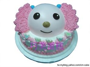 小桃(二層)造型蛋糕