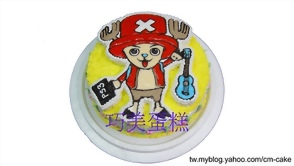 喬巴+烏克麗麗+PS3造型蛋糕