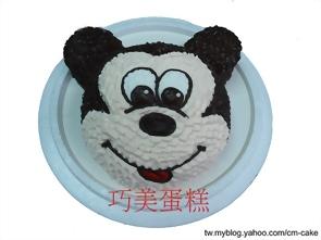 米奇(頭)造型蛋糕