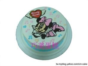 俏皮米妮造型蛋糕