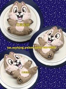 奇奇立體造型蛋糕