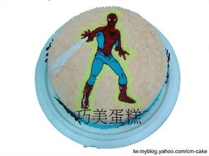 蜘蛛人造型