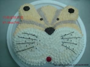12吋可愛虎造型蛋糕
