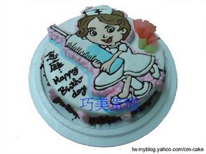小護士(2D)造型蛋糕