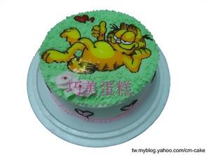 加菲貓造型蛋糕