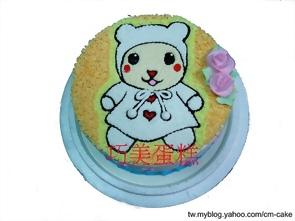 comomo造型蛋糕