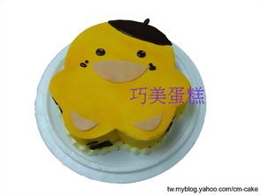 布丁鴨造型蛋糕